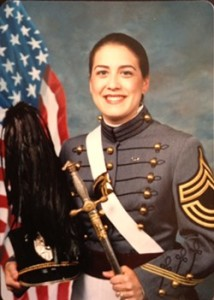 Laura Westley-West Point cadet